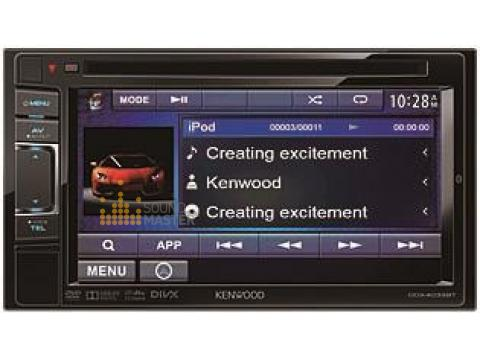 399) Kenwood DDX-4033BT Car Bluetooth DVD Player - DDX4033BT