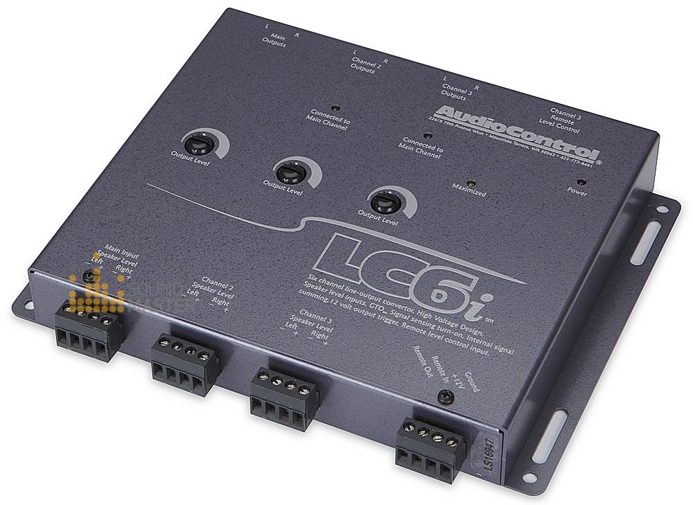 289) AudioControl LC6i Six Channel Line Output Converter - LC6i