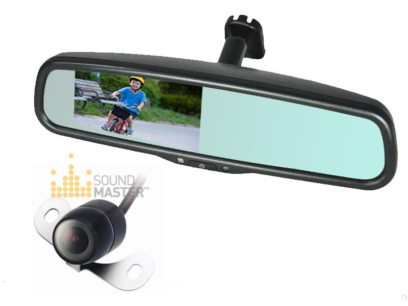 449 Rear View Reversing Camera With Oem 4 3inch Mirror