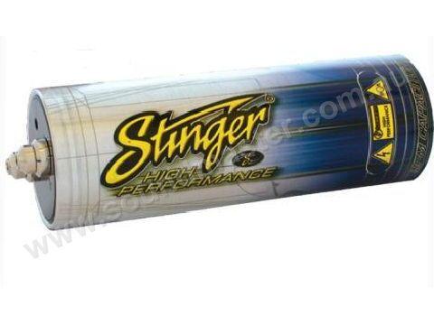 199) Stinger 1 Farad Capacitor Brushed Alumimum SC201PT