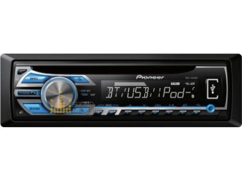 Pioneer DEH4550BT CD MP3 WMA Bluetooth Tuner IPhone USB AUX 2 Preout